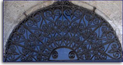 Rosta dell'edicola esterna della chiesa S. Francesco