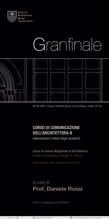 Corso di Comunicazione Architettura B