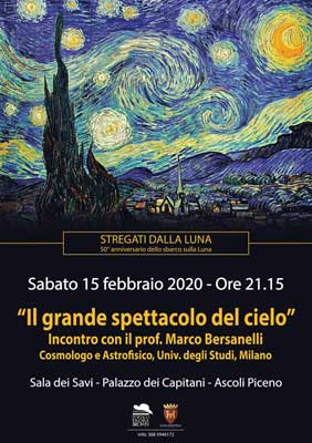 Il grande spettacolo del cielo - Incontro con il prof. Marco Bersanelli