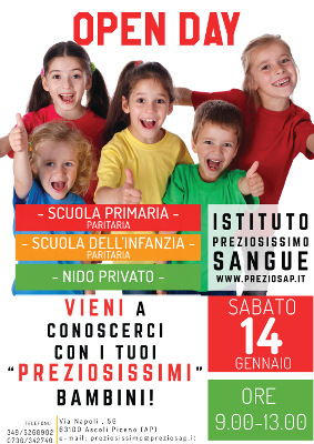 Open Day - Istituto Preziosissimo Sangue