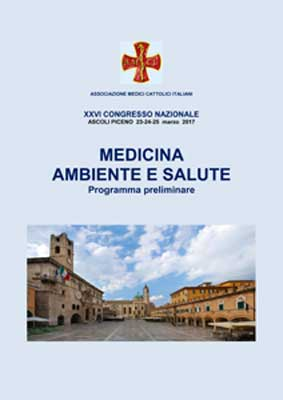 Medicina Ambiente e Salute - Congresso AMCI 2017