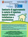 Seminario di aggiornamento in materia di ispezione impianti termici, installazione  e manutenzione