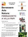 Benessere Arte Natura: Ferragosto a Villa Papi