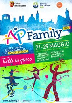 La settimana della famiglia di Ascoli Piceno 2016  - Tutti in gioco