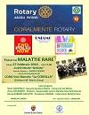 Locandina Coralmente Rotary- Focus sulle Malattie Rare