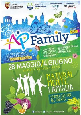 La settimana della famiglia di Ascoli Piceno 2017 - Naturalmente famiglia