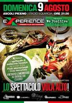 Locandina Experience Freestyle Motocross