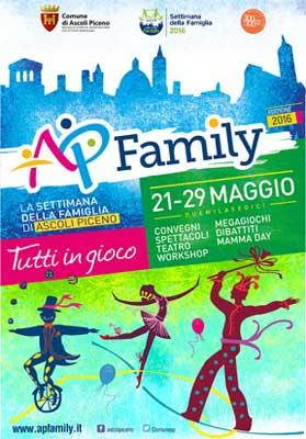 La settimana della famiglia di Ascoli Piceno  - Tutti in gioco