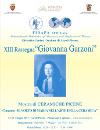"XIII Rassegna ""Giovanna Garzoni"""