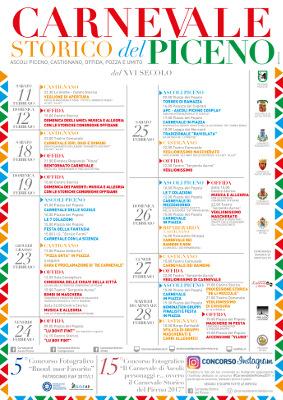 Carnevale Storico del Piceno - Ascoli Piceno,Castignano, Offida, Pozza e Umito