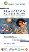 Francesco Polvere di Dio - Spettacolo - 22 Maggio 2015