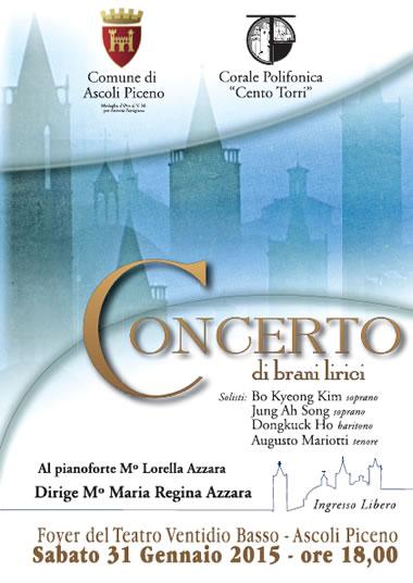 Concerto di brani lirici