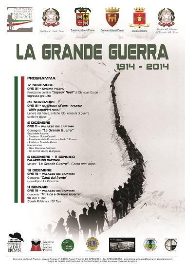 LA GRANDE GUERRA 1914 - 2014