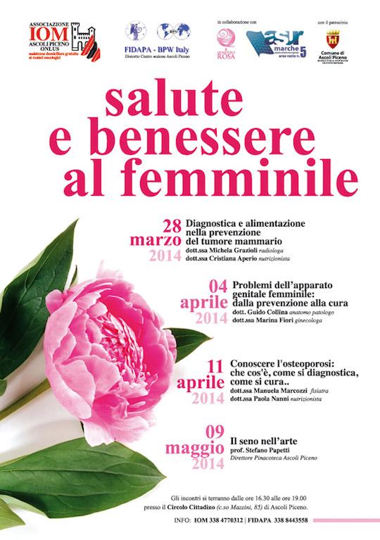 Comune Di Ascoli Piceno Salute E Benessere Al Femminile