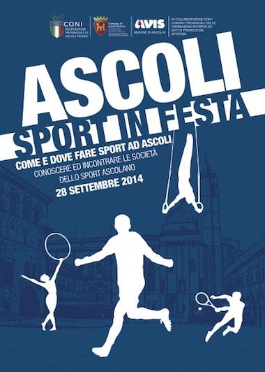 Ascoli Sport in festa - Come e dove fare sport ad Ascoli, conoscere ed incontrare le societ� dello sport