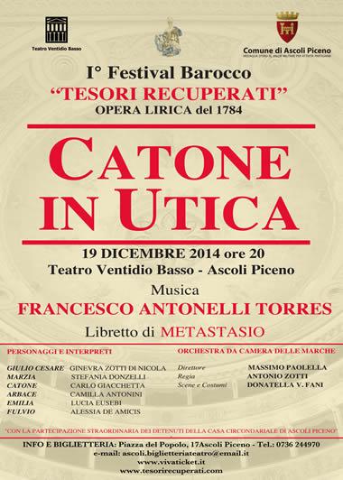 I Festival Barocco - CATONE IN UTICA